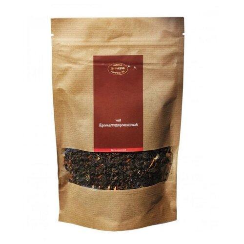 Чай черный Чайная мануфактура Давыдов Земляника со сливками , 100 г майский чайная матрешка синяя черный листовой чай 30 г