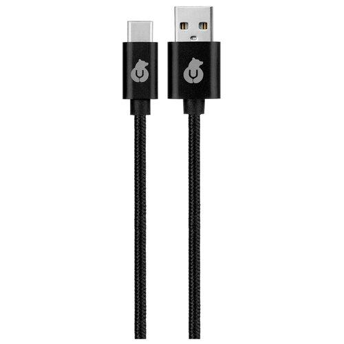 Кабель uBear Cord USB - USB Type-C (DC07) 1.2 м черный