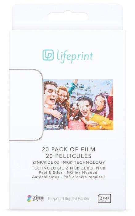 Бумага A7 20 шт. Lifeprint PH30
