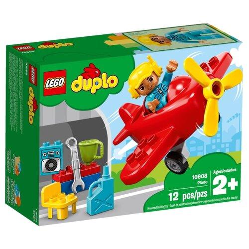 Конструктор LEGO DUPLO 10908 Самолёт lego duplo 10908 конструктор лего дупло самолёт