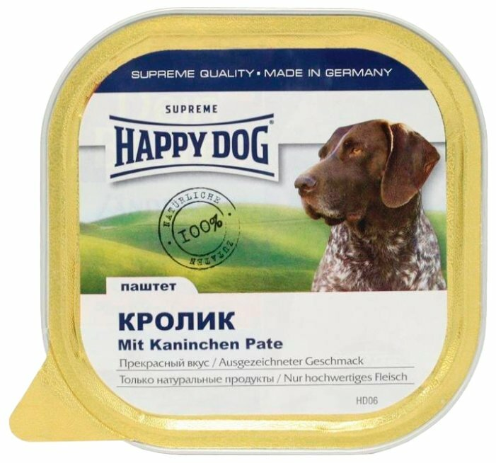 Корм для собак Happy Dog NaturLine кролик 300г
