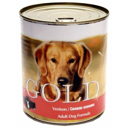 Влажный корм для собак Nero Gold оленина 810г
