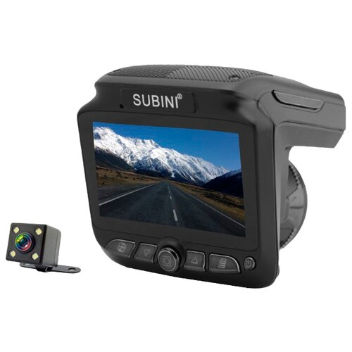 Купить Видеорегистратор с радар-детектором Subini XT-5 черный