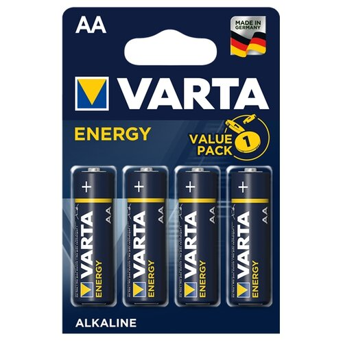 Батарейка VARTA ENERGY AA 4 шт блистер