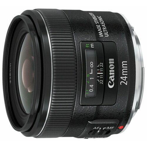 Объектив Canon EF 24mm f/2.8 IS USM черный