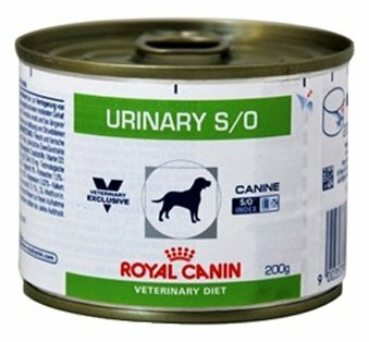 Корм для собак Royal Canin Urinary S/O при мочекаменной болезни 12шт. х 200г