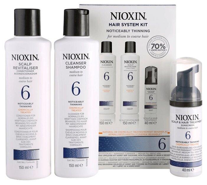 Nioxin Cleanser System 6 - Ниоксин очищающий шампунь (Система 6) 300 мл