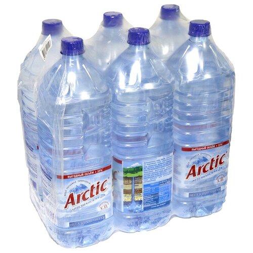 Вода артезианская Arctic негазированная, ПЭТ, 6 шт. по 2 лВода<br>