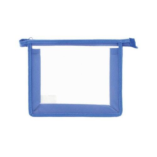 Пифагор Папка для тетрадей прозрачная, А5 синий обложка пвх для прописей горецкого и рабочих тетрадей пифагор прозрачная плотная 120 мкм 243х345 мм 224836