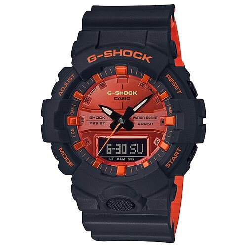 Наручные часы CASIO GA-800BR-1A чайный сервиз 15 предметов на 6 персон colombo золотой замок c2 ts 15 6962