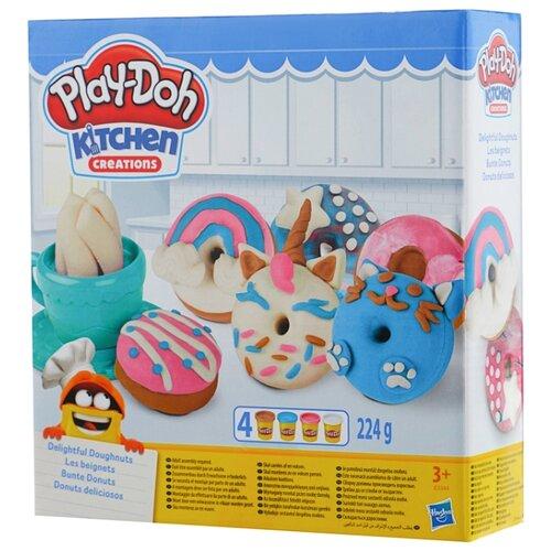 Купить Масса для лепки Play-Doh Выпечка и пончики (E3344), Пластилин и масса для лепки