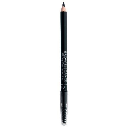 Seventeen карандаш Brow Elegance All Day Precision Liner, оттенок 01, Soft Black seventeen карандаш brow elegance all day precision liner оттенок 02 dark brown