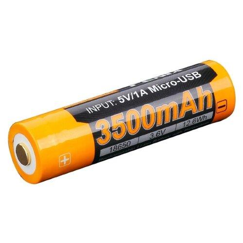 цена на Аккумулятор Li-Ion 3500 мА·ч Fenix 18650 ARB-L18-3500U 1 шт
