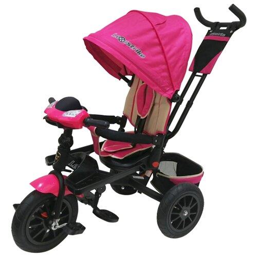 Трехколесный велосипед Shantou City Daxiang Plastic Toys Lexus Trike T400M2-N1210P розовыйТрехколесные велосипеды<br>