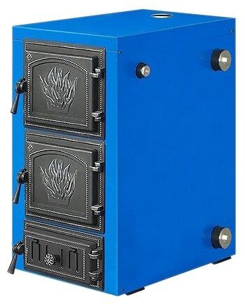 Твердотопливный котел Везувий Олимп-20, 20 кВт, одноконтурный фото 1