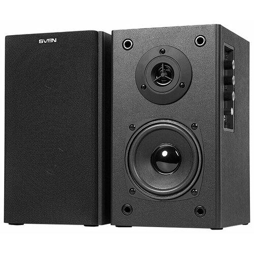 цена на Компьютерная акустика SVEN SPS-611S черная кожа