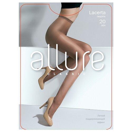 Колготки ALLURE Classic Lacerta 20 den nero 5 (ALLURE)Колготки и чулки<br>