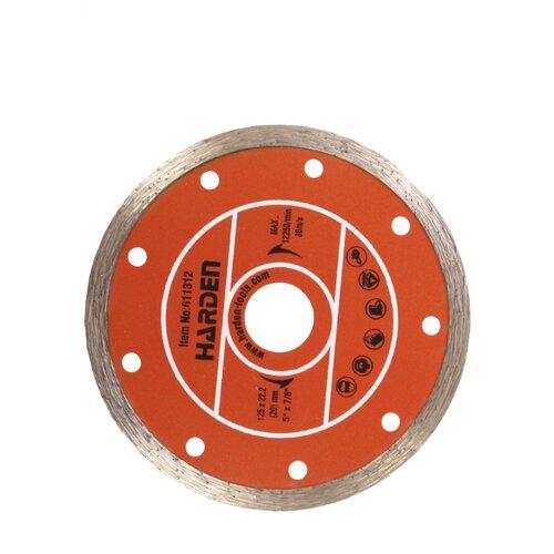 Диск алмазный отрезной 125x22.2 Harden 611312 1 шт.
