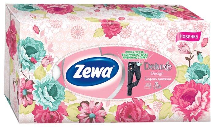 Салфетки Zewa Deluxe Design 90 шт.