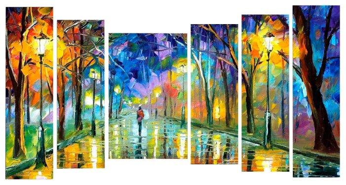 Модульная картина KARTINA style Осенняя аллея