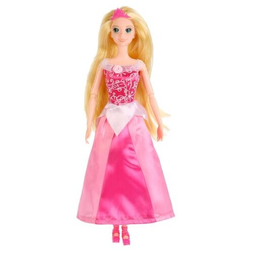 Кукла Карапуз София Принцесса в розовом платье, 29 см, P03103-1-S-KB кукла карапуз герда 29 см снежная королева в голубом платье карапуз