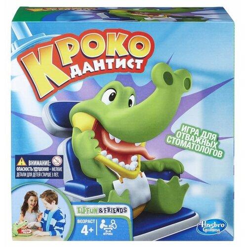 Купить Настольная игра Hasbro Игры Крокодильчик Дантист B0408, Настольные игры