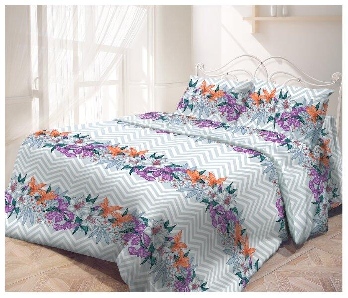 Постельное белье семейное Самойловский текстиль Ноктюрн 70 х 70 бязь