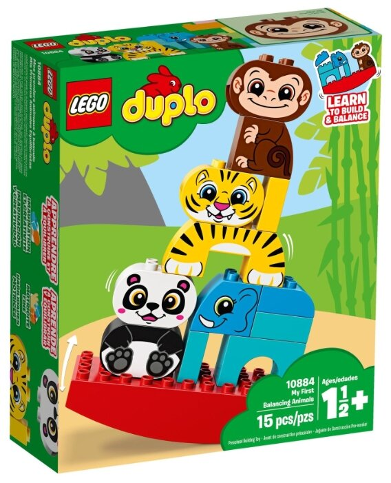 Купить Конструктор LEGO DUPLO 10884 Мои первые животные по низкой цене с доставкой из Яндекс.Маркета - Классные подарки до 1000 руб