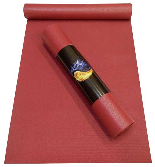 Коврик (ДхШхТ) 200х60х0.45 см AKO YOGA Yin-Yang Studio оранжевый
