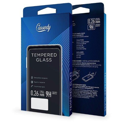 Защитное стекло Cassedy для Apple iPhone 5/5S/SE прозрачный защитное стекло cassedy для samsung galaxy j8 прозрачный