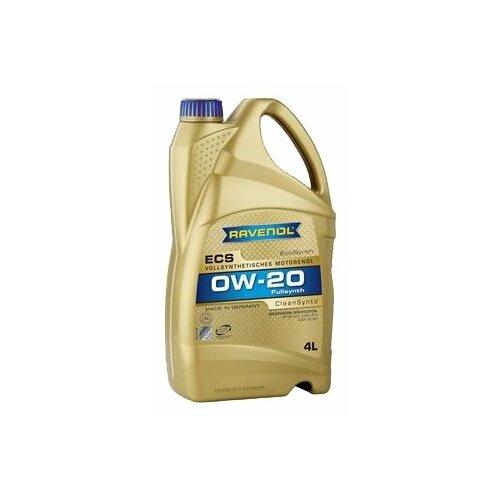 Моторное масло Ravenol Eco Synth ECS SAE 0W-20 4 л