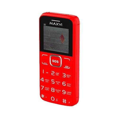 Телефон MAXVI B2 красный