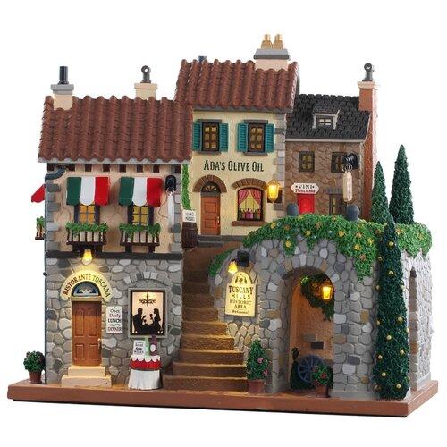 Фигурка LEMAX фасад Холмы Тосканы 29 x 26 x 13 см бежевый/серый по цене 12 637