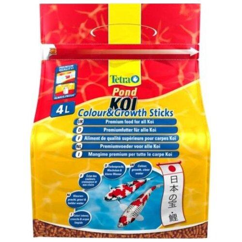 Сухой корм для рыб Tetra Koi Colour&Growth Sticks 4000 мл