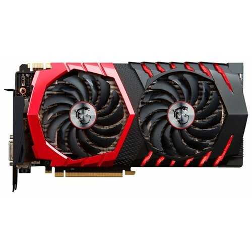 Видеокарта MSI GeForce GTX 1070 1531Mhz PCI-E 3.0 8192Mb 8008Mhz 256 bit DVI HDMI HDCP GAMINGВидеокарты<br>