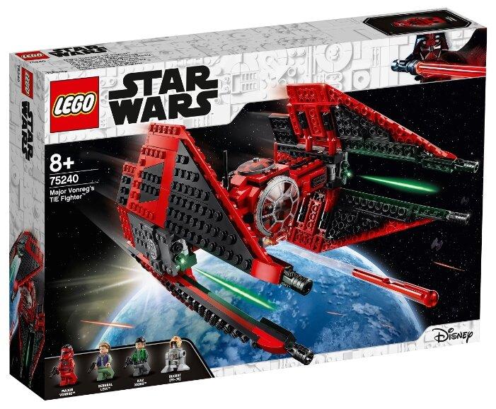 Конструктор LEGO Star Wars 75240 Истребитель СИД майора Вонрега