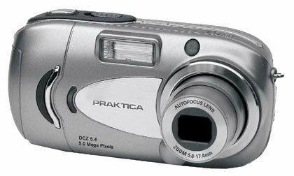 Фотоаппарат Praktica DCZ 5.4
