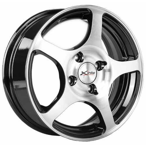 Фото - Колесный диск X'trike X-103 5.5x14/4x100 D67.1 ET45 BK/FP колесный диск x trike x 105 6x15 4x100 d67 1 et45 bk fp