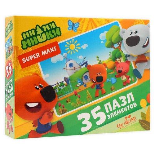 Пазл Origami МиМиМишки Хороший день Super Maxi (5680), 35 дет. пазл origami мимимишки напольная азбука 4235 32 дет