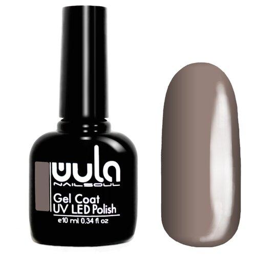 Гель-лак для ногтей WULA Gel Coat, 10 мл, оттенок 358 бежево-серый гель лак для ногтей wula gel coat 10 мл оттенок 367 серо зеленый