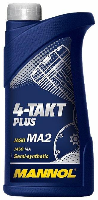 Моторное масло Mannol 4-Takt Plus 1 л — купить по выгодной цене на Яндекс.Маркете