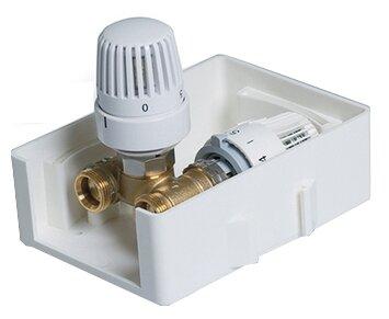 Термостатический клапан для радиатора Tim TCB-K-RTL01