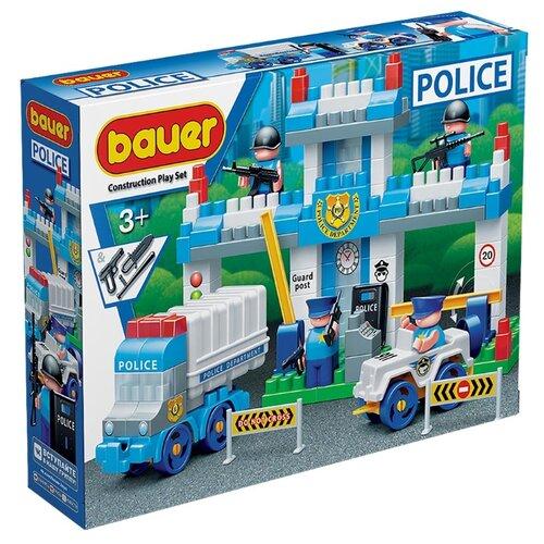 Купить Конструктор Bauer Полиция 631-127 Полицейский участок, Конструкторы