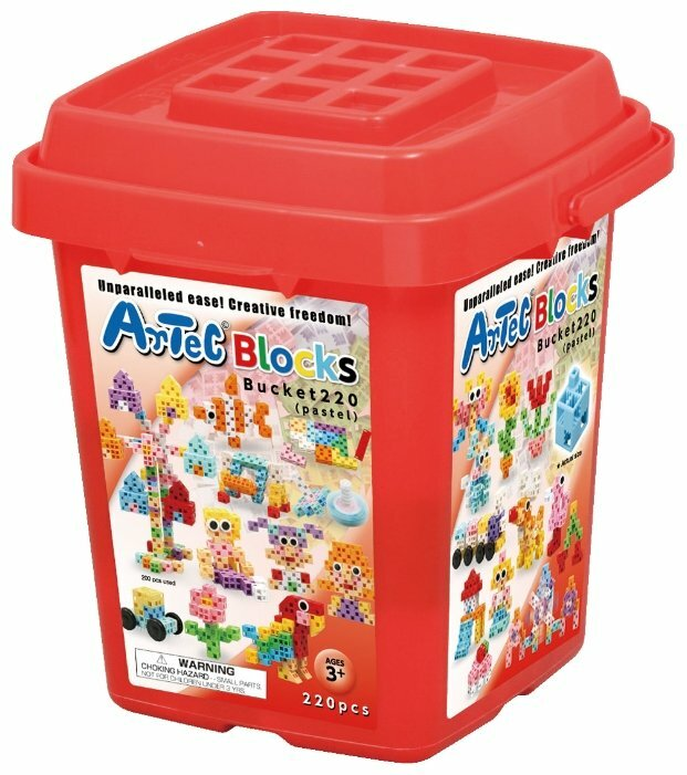 Конструктор Artec Blocks Basic 152203 Пастельные цвета 220