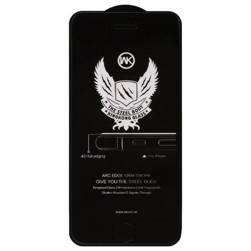 Купить Защитное стекло WK Kingkong 4D Full Cover Curved Edge Tempered Glass для Apple iPhone 7/8 черный