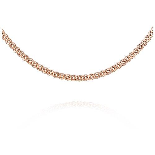 АДАМАС Цепь из золота плетения Нонна ЦН230А2-А51, 45 см, 2.39 г