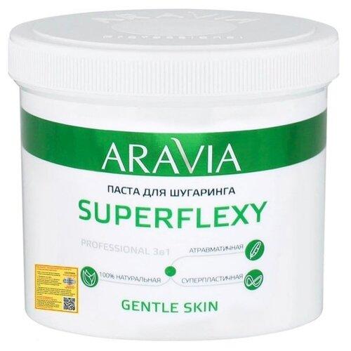 Паста для шугаринга ARAVIA Professional Superflexy Gentle Skin 750 г aravia professional organic лосьон мягкое очищение gentle cleansing 300 мл aravia professional уход за телом