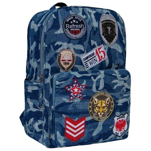 Купить Феникс+ Рюкзак 46668, голубой, Рюкзаки, ранцы