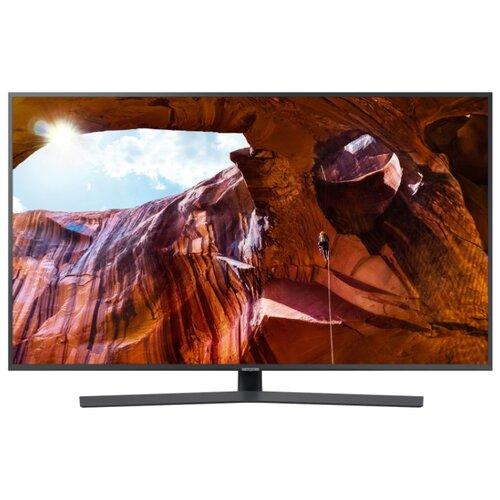 Купить Телевизор Samsung UE55RU7400U серый титан