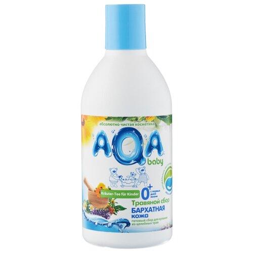 AQA baby Травяной сбор для купания Бархатная кожа 300 млСредства для купания<br>